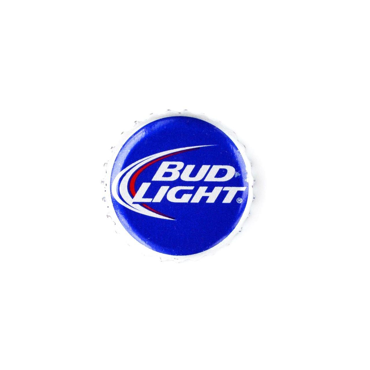 Quality Handcrafts Guaranteed Bud Light Bottle Cap Lapel Pin LP370
