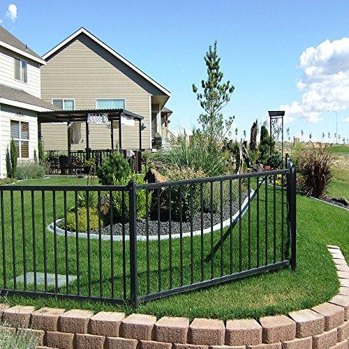 Wrought Iron Fence Amazoncom