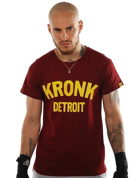 Kronk Boxing Gym Detroit para hombre camiseta de manga corta Klitschko Thomas Hearns Emanuel Steward: Amazon.es: Ropa y accesorios