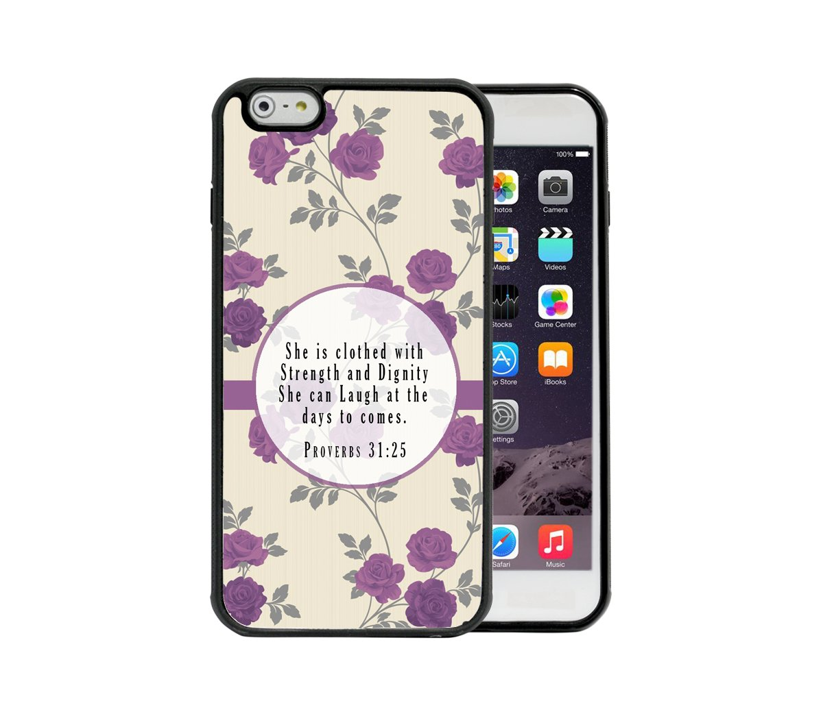Amazon Com Purple Lilac Floral Roses Wallpaper Proverbs 31 25 Bible