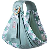 Baby Ring Sling,ShowTop Baby Carrier Baby Wrap Baby Holder Extra Comfortable for Easy Wearing Carrying of Newborn,Infant Toddler Up to 66 lbs (0-36 Months)