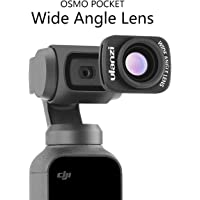 Ulanzi OP-5 18mm Large Wide-Angle Lens for DJI Osmo Pocket Camera Handheld, Professional HD Magnetic Structure Lens Osmo Pocket Accessories