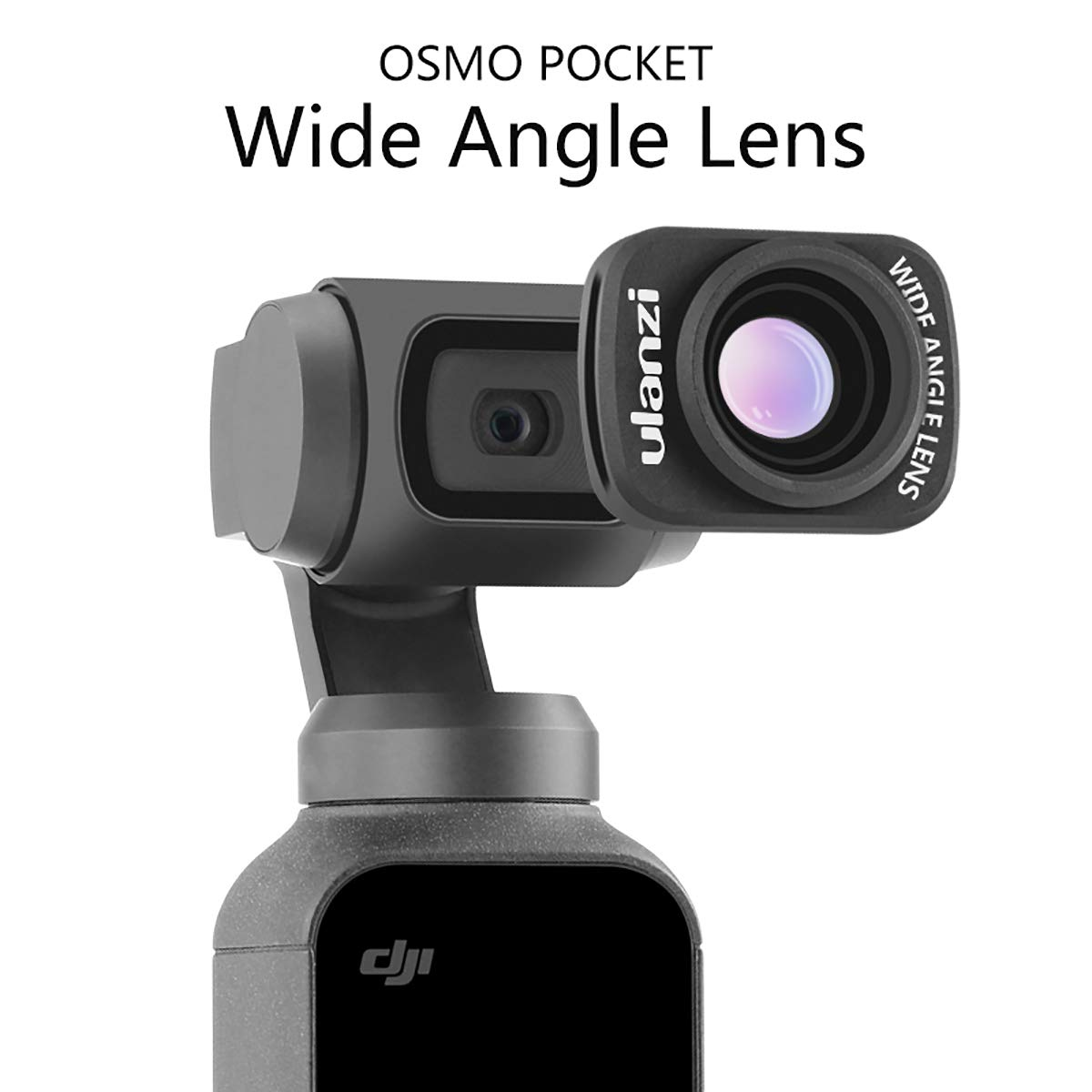 ULANZI OP-5 OSMO Pocket Wide Angle Lens Magnetic Structure for DJI OSMO Pocket Camera Handheld Gimbal Stabilizer Accessories Wide-Angle Camera Lens by ULANZI