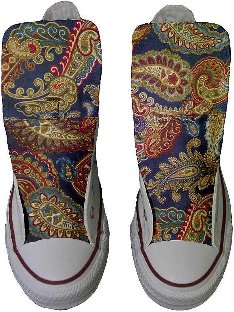 Sneaker Unisex Produit Italien Artisanal High mys Sneaker Original Hi Personnalis/é et Imprim/és Chaussures Coutume
