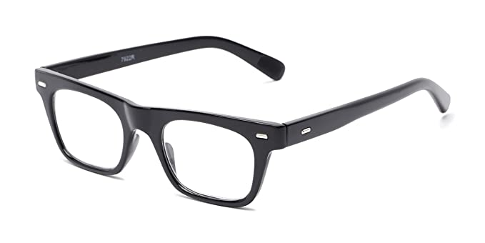 63cf9529addb Readers.com | The Madden +1.00 Black Retro Square Stylish Men's & Women's  Full