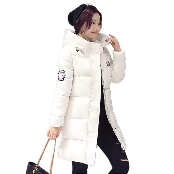 Amazon.com: Female Women Winter Coat Thickening Cotton ...