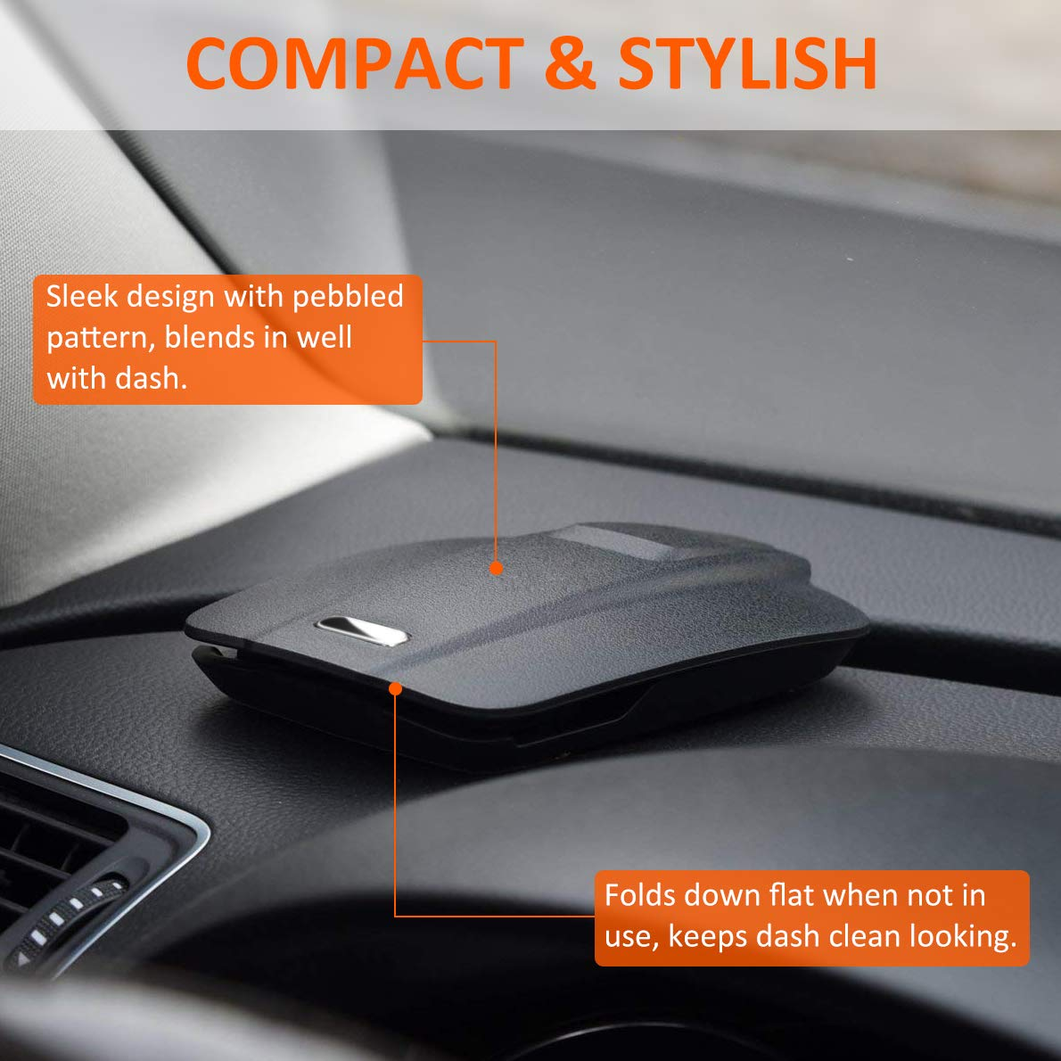 Phone Holder for Car etc M-CHB01 Compatible with iPhone X//XS Max//XR//8 Plus//7 Plus//6s//6 Plus GPS Easy Opening /& Neat Folding Matone Car Mount Dashboard Cell Phone Holder Galaxy S10 Plus//S10//S10e