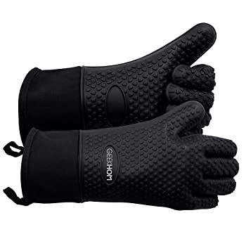 GEEKHOM Heat Resistant BBQ Gloves