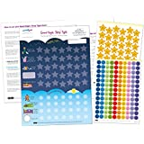 Good Night, Sleep Tight Reward Chart for 3 yrs+ – Award Winning – Create the Perfect Bedtime Routine for Your Child and Help Them Sleep At Night (17 x 12 inches)