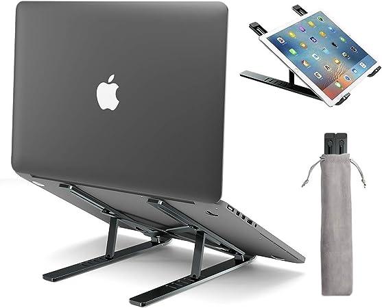 Licheers Laptop Ständer Höhenverstellbarer Aluminium Computer Zubehör