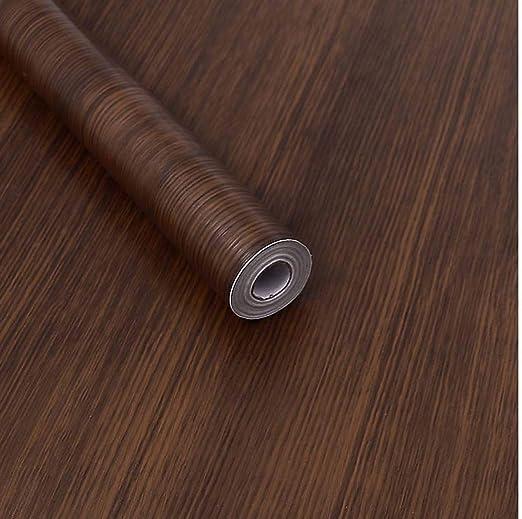 Kitchen Worktop Cover Vinyl Self Adhesive Sticky Back Film Walnut Wood Wrap Roll