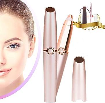 Eléctrica Depiladora Cejas Depiladora Facial Hair Remover para ...
