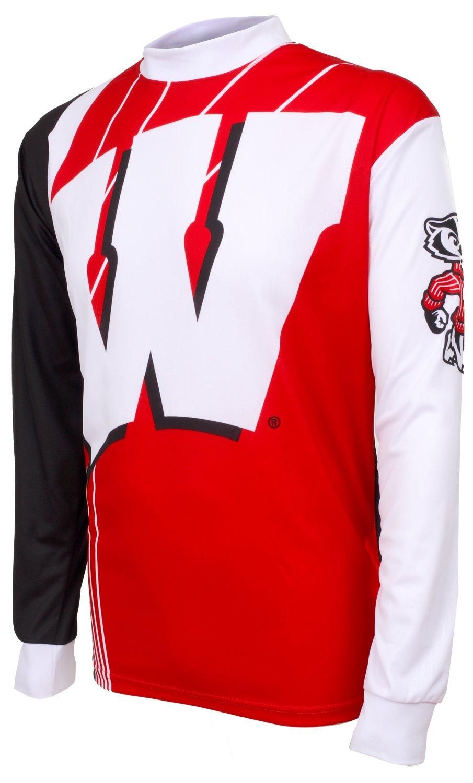 Adrenaline Promotions NCAA Wisconsin Badgers Mountain Bike Jersey