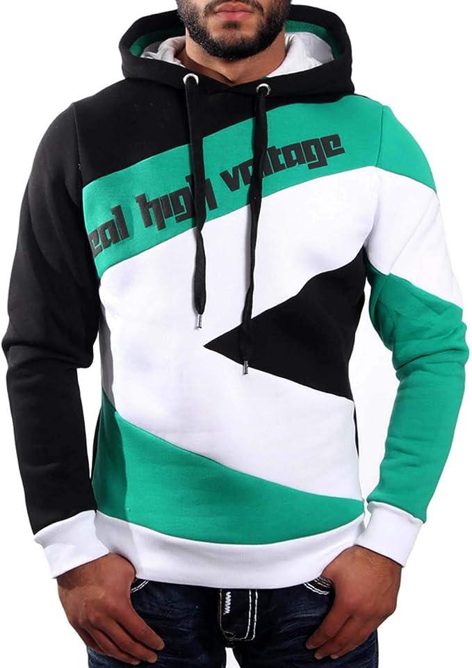 r-neal herren college jacke kapuze hoodie sweatshirt