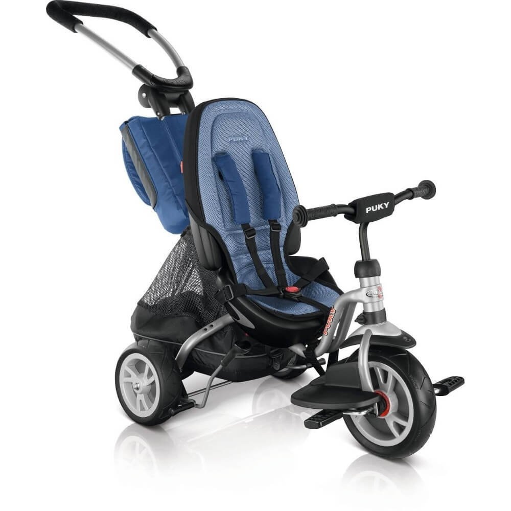 Puky CAT S6 Ceety - Tricycle Enfant - bleu argent 2018 tricycle bebe