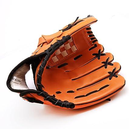 a3f838ed1568e Amazon.com : Andux Baseball Glove Softball Mitts Outdoor Team Sports ...