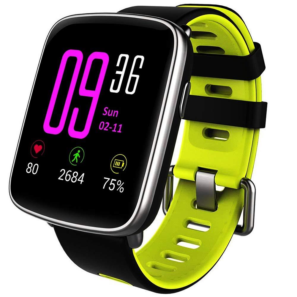 8163a5e62523d Willful Montre Connectée Smartwatch Bracelet Connecté Podomètre Etanche  IP68 Femme Homme Enfant Sport Fitness Tracker d