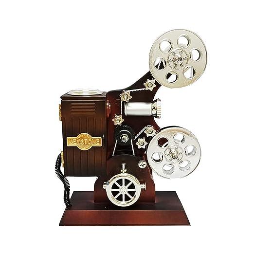 Vosarea Caja de música Retro Caja de música Vintage Proyector Caja ...