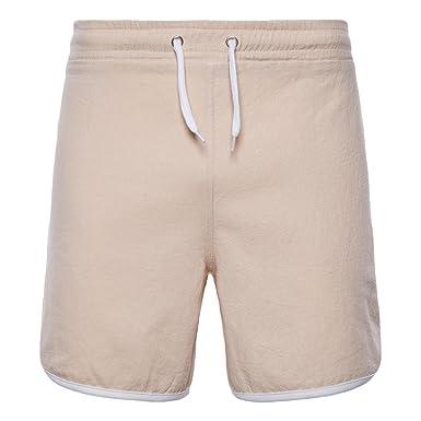 Fashion Casual Zhhlaixing Color Sólido Hombres Cortos Pantalones qPx1pcwg7T