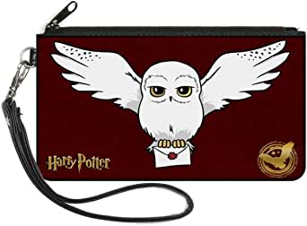 Buckle-Down Womens Buckle-down Zip Harry Potter Small Wallet, Harry Potter, 6.5 x 3.5 US