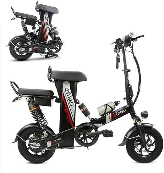 AA100 Bicicleta eléctrica Plegable, Conveniente Doble tracción en ...
