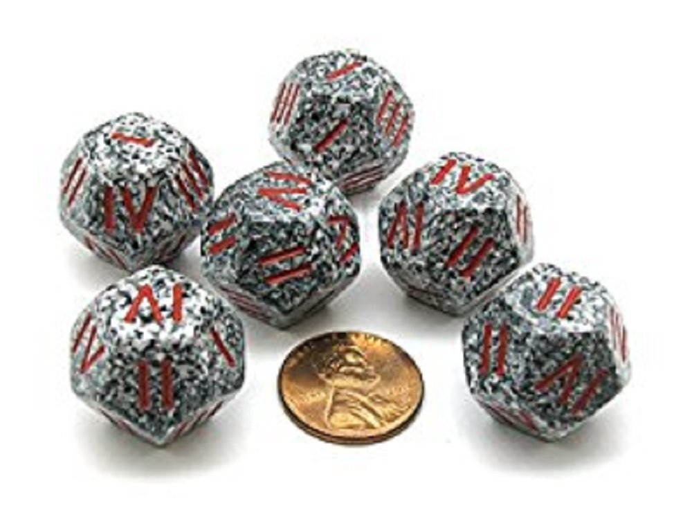 2018新入荷 Chessex xs1430r – Speckled Chessex Roman granite Speckled granite withレッド番号d4 B0711WQ154, 三重みどりの里:520fdfc1 --- cygne.mdxdemo.com