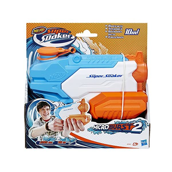 Nerf Supersoaker - Microburst, pistola ad acqua 2 spesavip
