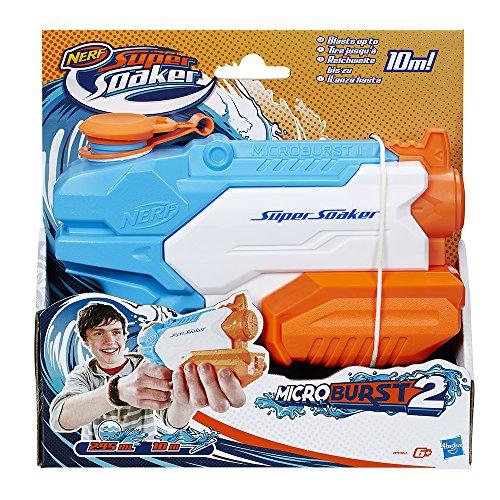 Nerf - Lanzador de Agua Super Soaker Microburst II (Hasbro a9461EU4): Amazon.es: Juguetes y juegos
