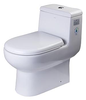 EAGO TB351 Dual Flush Eco-Friendly Ceramic Toilet