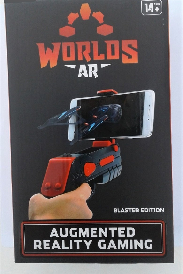 Augmented Reality Gaming Portable Blaster