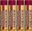 Burt\'s Bees 100% Natural Moisturizing Lip Balm, Pomegranate, 4 Tubes
