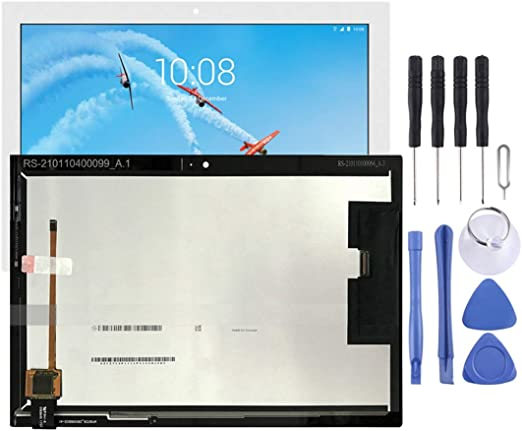 SHIYUAN レノボタブ4 X304 TB-X304L TB-X304Fのための優れたLCDスクリーンとデジタイザフルアセンブリTB-X304N(ブラック) (色 : 白)