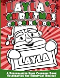 Layla's Christmas Coloring Book: A Personalized Name Coloring Book Celebrating the Christmas Holiday