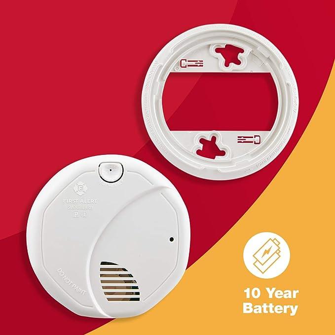 Primera alerta Sensor Dual Alarma Contra Incendios Y Humo a pilas: Amazon.es: Bricolaje y herramientas