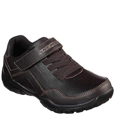7a2176fcd5e0c Skechers Kid s Grambler II Zellox Boys Fashion Sneakers Chocolate 1 Medium  US Little Kid