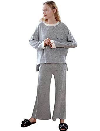 BELLOO Women s Warm Fleece Pyjama Set Cosy Soft Nightwear Loungewear ... 1cd6dd6dc
