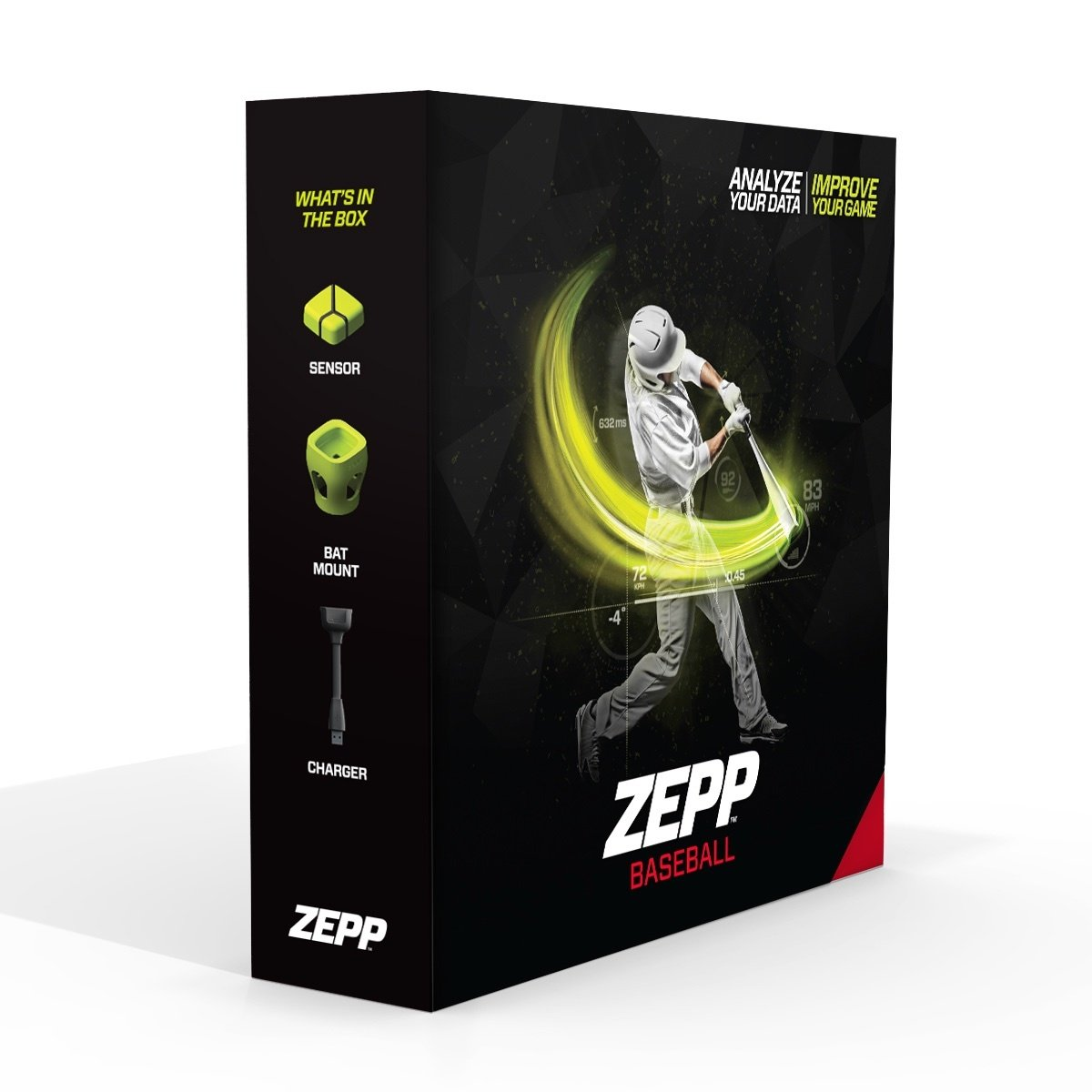 Zepp Bluetooth 3D Baseball Swing Analyser for iPhone/iPad/Android by Zepp by Zepp