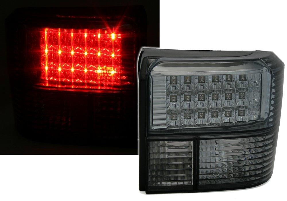 AD Tuning GmbH & Co. KG 960423 LED Rear Light Set, Clear Glass, Black