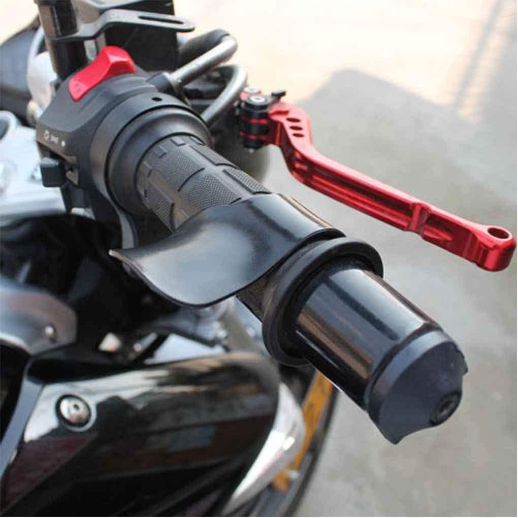 Jinzuke Gaz Moto Assist Repose-Poignet Guidon R/égulateur de Vitesse Aide Grip pour Tous 7//8 Poign/ée Poign/ées