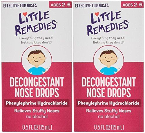 Little Remedies Little Noses Decogestant Drops - 0.5 oz - 2