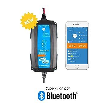 Victron BlueSmart Batterieladegerät IP65 12/5 mit integriertem Bluetooth für alle Batterietypen 12V 5A BPC120531064R