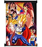 Dragon Ball Z Anime Vegeta Fabric Wall Scroll Poster (16x20) Inches. [WP]DragonBallZ-63