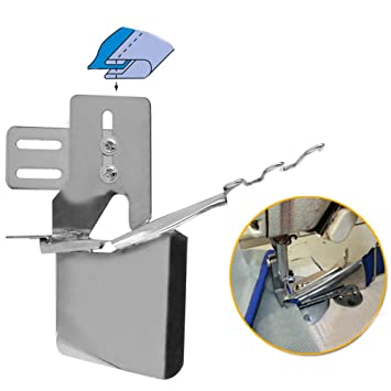 Delamans 60% Doble Cilindro Fold Edge Aglutinante Adjunto Archivo Carpeta Cinta Aglutinante, para Maquina de Coser Industrial: Amazon.es: Hogar