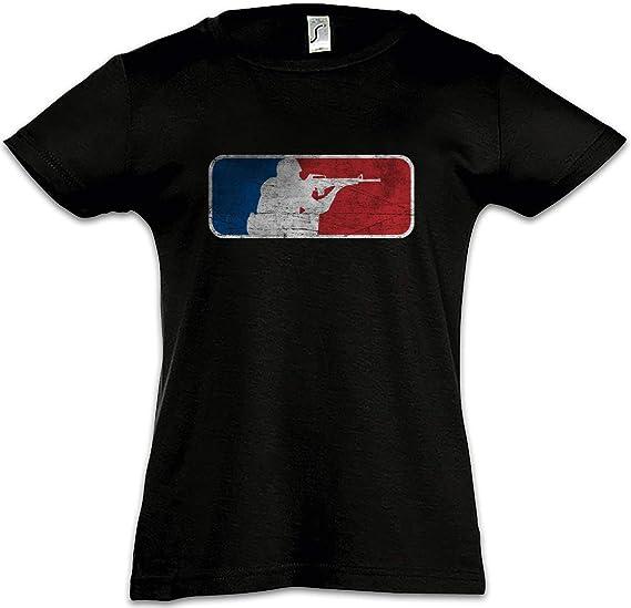 The Mermaid Conviction Esports Shooter Camiseta para Niñas 2-12 Años: Amazon.es: Ropa y accesorios