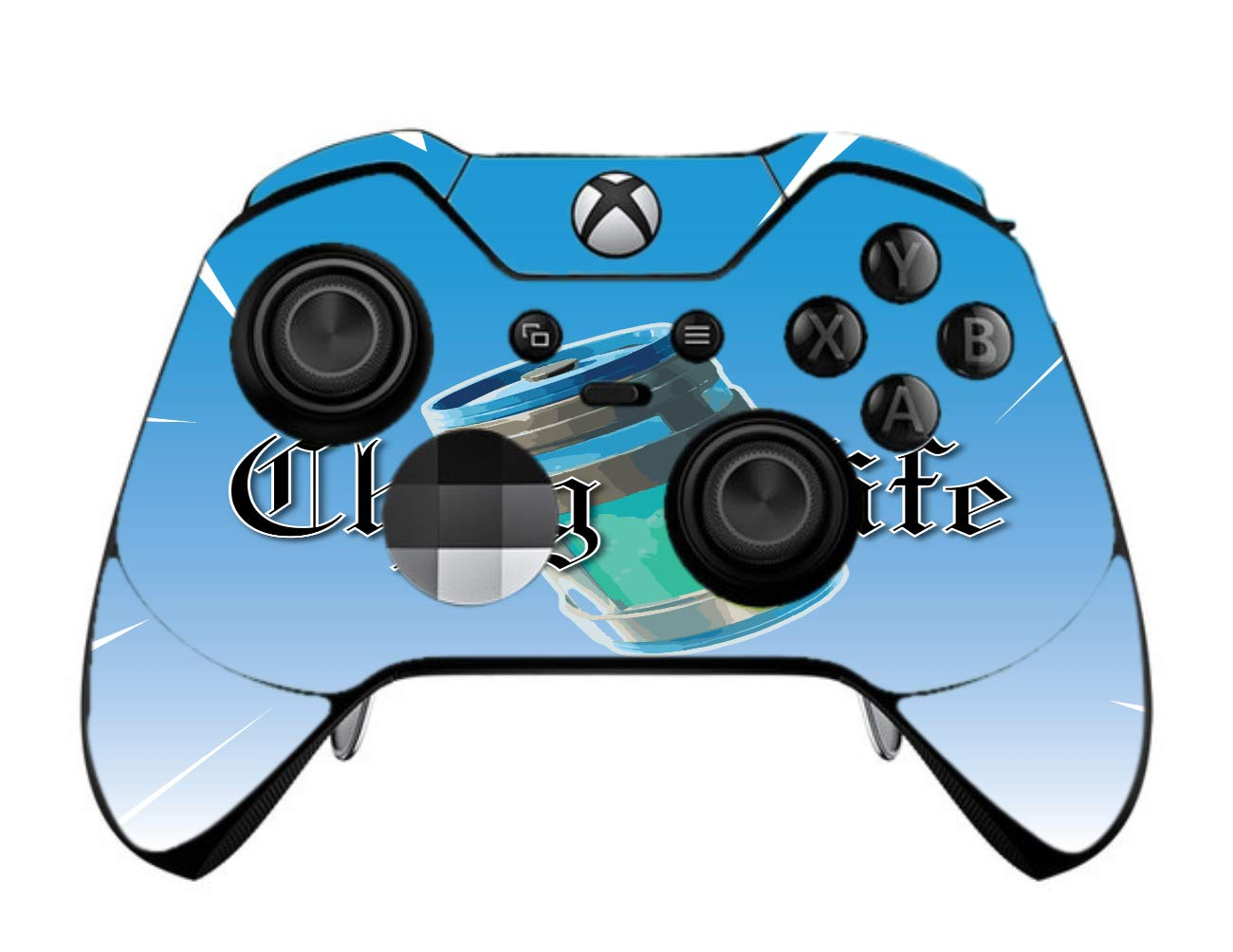 Chug Life Vinyl Decal Sticker Skin by EandM for Xbox One Elite Controller