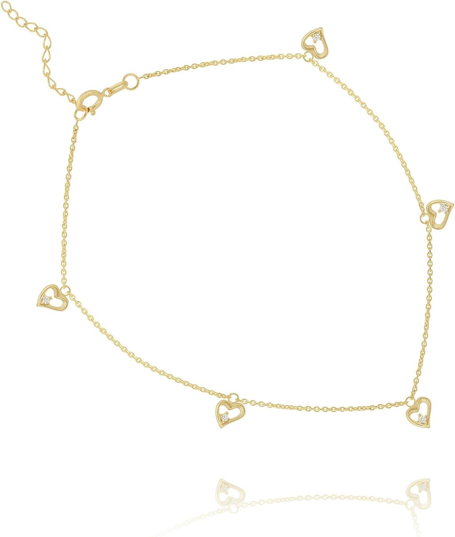 10 Inches 14Kt Gold Anklet Anklet