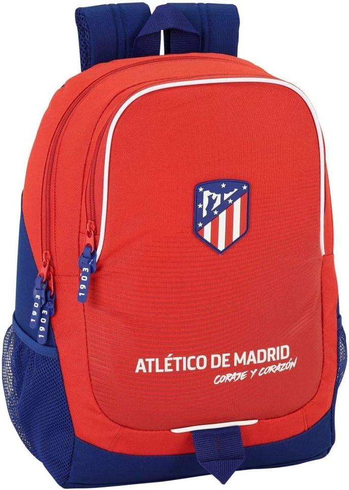 Atletico Madrid Kollektion ROT Rucksack 32 x 16 x 44 cm