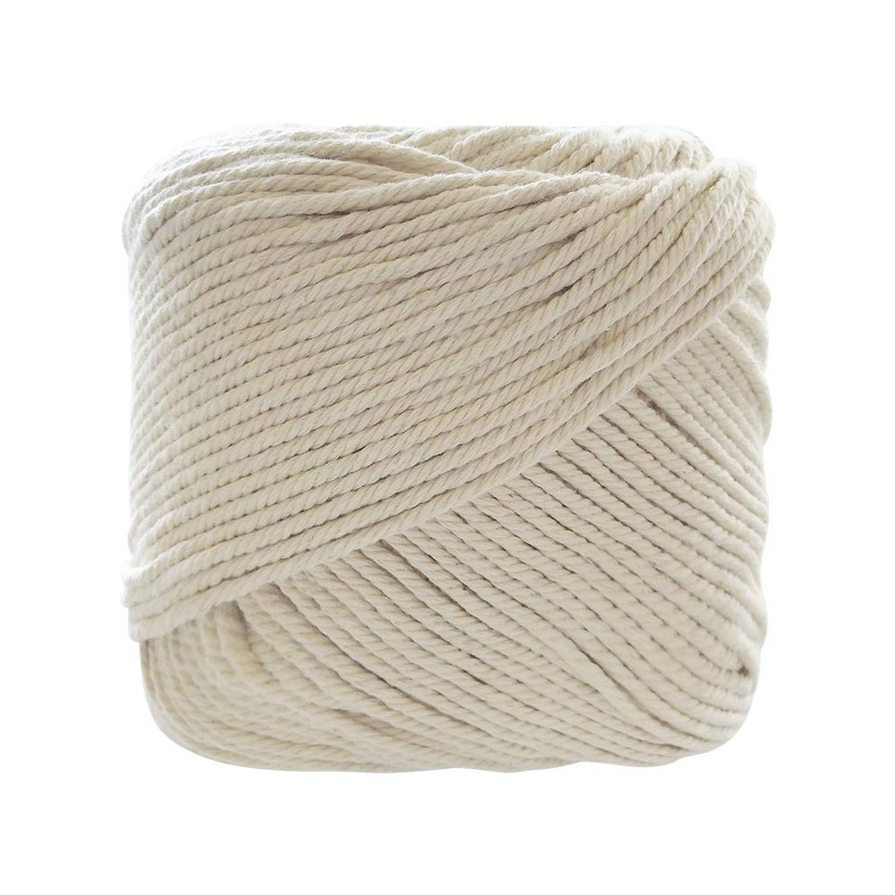 3mm x 180m Naturl Cotton Macrame Cord for Plant Hangers DIY Crafts Handmade Bohemia Wall Hanging Decorations