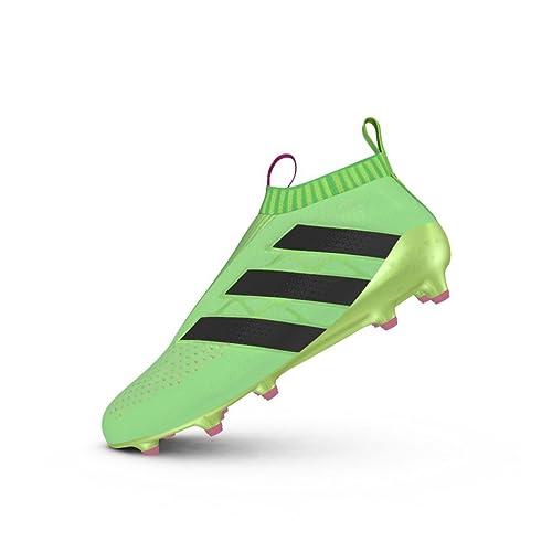 Bota Ace 16+ Purecontrol FG AG Solar Green Talla 12 UK  Amazon.es  Zapatos  y complementos be6351183429b