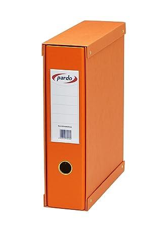 Pardo 924109 - Módulo forrado de 1 archivador palanca, color naranja: Amazon.es: Oficina y papelería